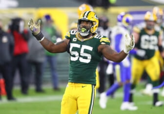 Green Bay Packers star Za'Darius Smith being placed on IR