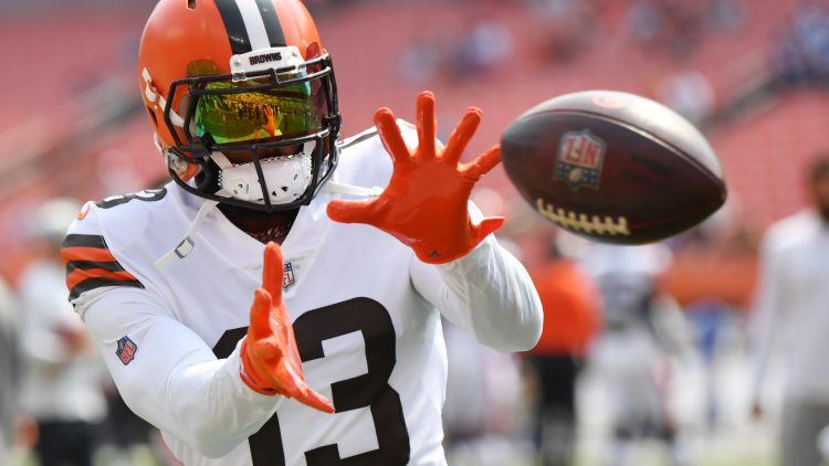 Cleveland Browns have enough weapons to allow Odell Beckham Jr. to ease into return