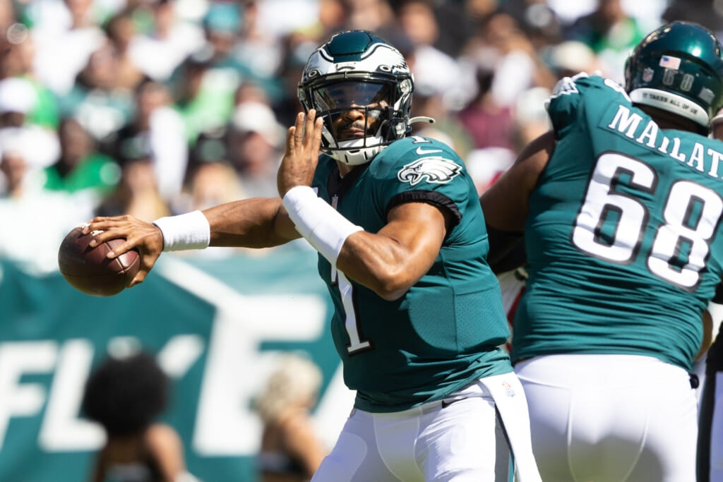 Philadelphia Eagles' Jalen Hurts