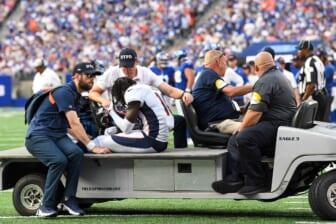 NFL injury report, Jerry Jeudy