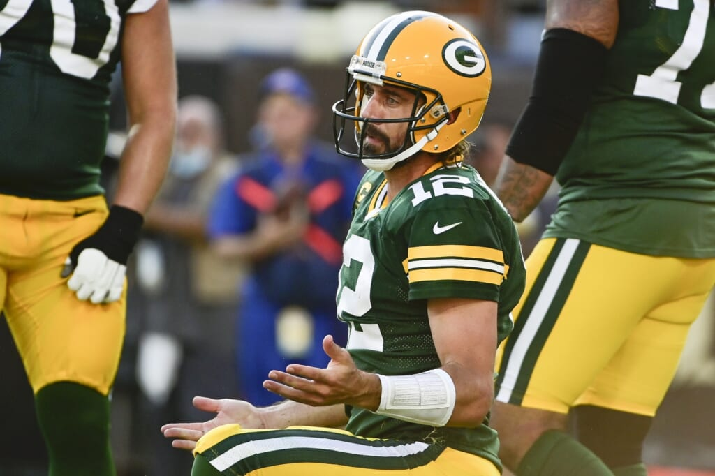 Lions vs Packers, Aaron Rodgers