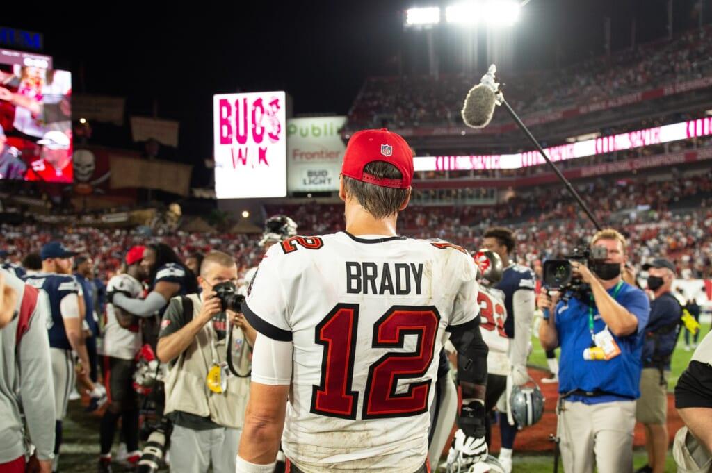 Falcons vs Buccaneers, Tom Brady