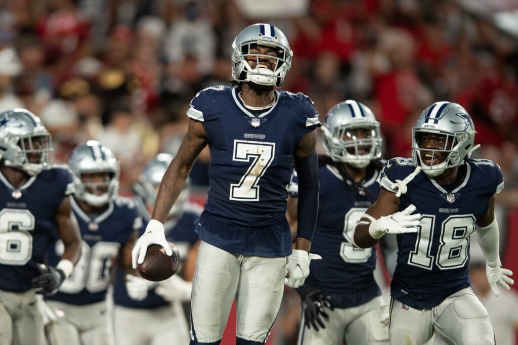 Chargers vs Cowboys, Trevon Diggs