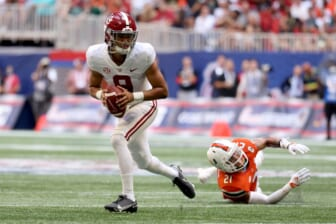 College football world reacts to Bryce Young's amazing debut as Alabama blows out Miami