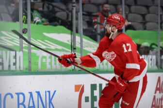 NHL: Detroit Red Wings at Dallas Stars