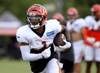 Cincinnati Bengals rookie Ja'Marr Chase attempts to explain away severe drop issues