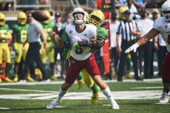 Top 2022 NFL Draft prospect Kayvon Thibodeaux injured in Oregon Ducks' opener