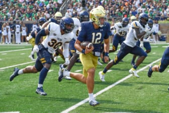 Notre Dame put on blast for Peacock streaming deal, poor showing vs. Toledo