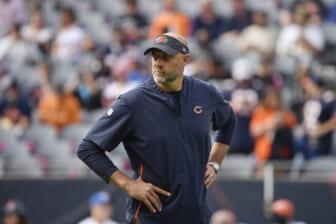NFL coaches fired, Matt Nagy