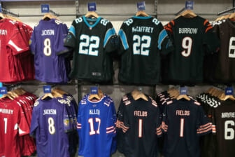 Top-selling NFL jerseys
