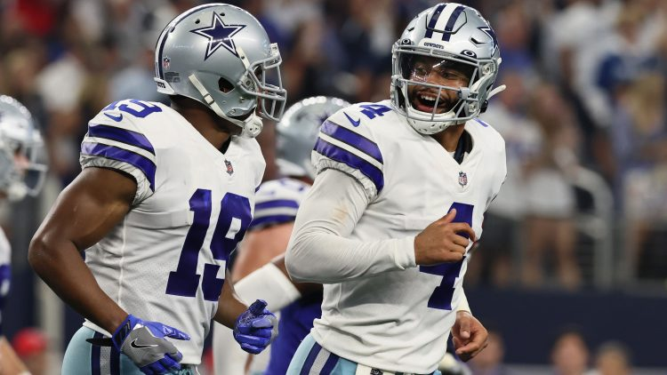 dallas cowboys blow out new york giants