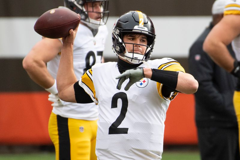 NFL rumors: Mason Rudolph could be Pittsburgh Steelers QB in 2021.