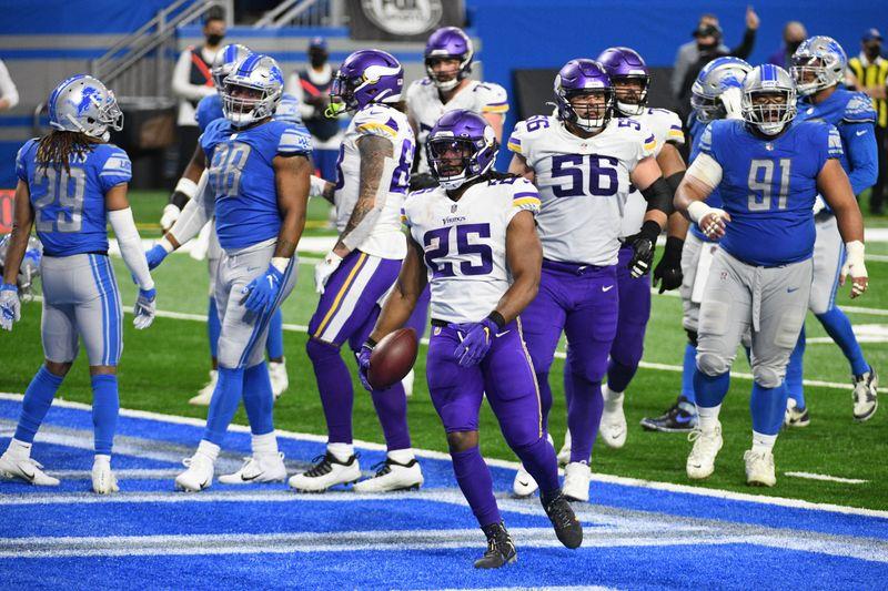 Minnesota Vikings RB Alexander Mattison