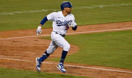 Los Angeles Dodgers outfielder Mookie Betts